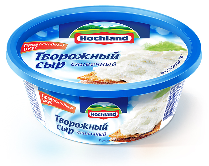 new Hochland cheese packaging range
